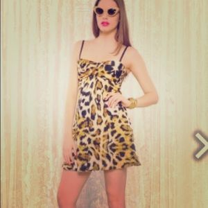 Betsy Johnson Leopard Print dress